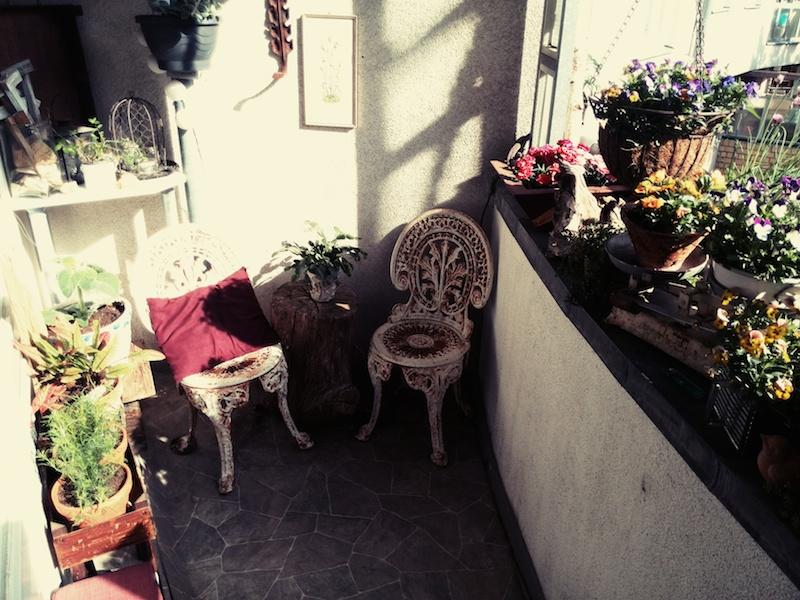 Balkon kräutergarten – annefaktur