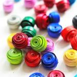 DIY Papier-Perlen Selber machen Annefaktur.de