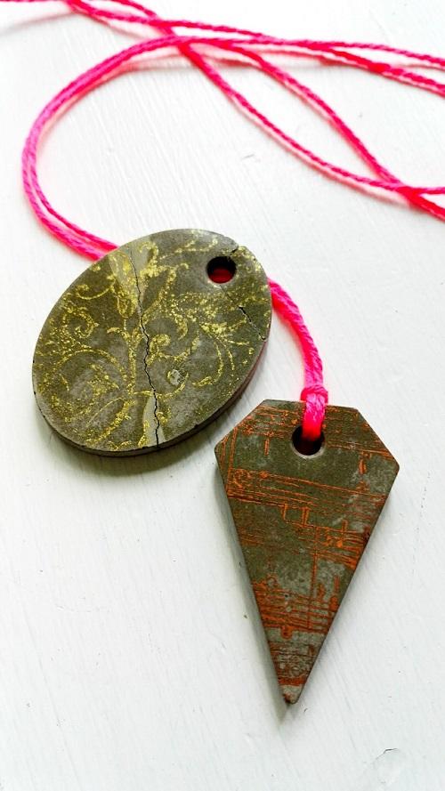 Einfach und kreativ - Kettenanhänger aus Kreativbeton DIY-Blog  Annefaktur.de