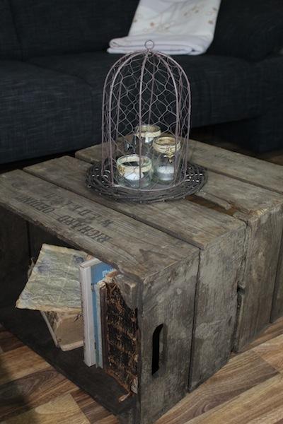 ohne schrauben wohnzimmer tisch aus weinkisten selber bauen. Black Bedroom Furniture Sets. Home Design Ideas