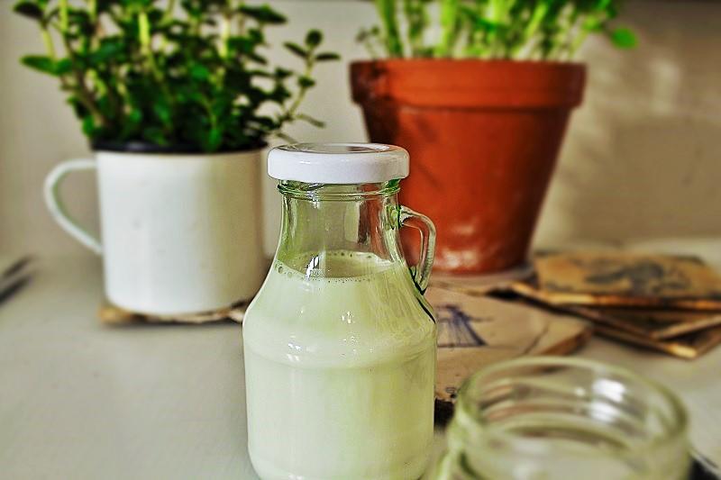 Nussmilch selbstgemacht Annefaktur.de