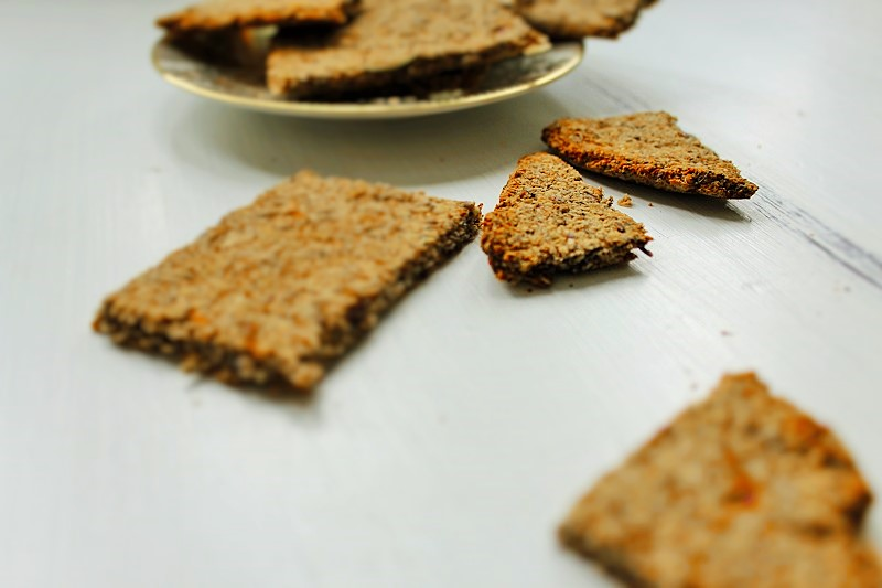 Nuss-Cracker Knäckebrot Annefaktur.de