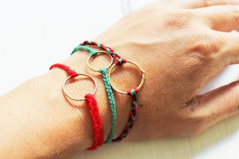 DIY Armband aus Fingerringen Annefaktur.de