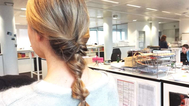 30-Sekunden-Frisur Annefaktur.de