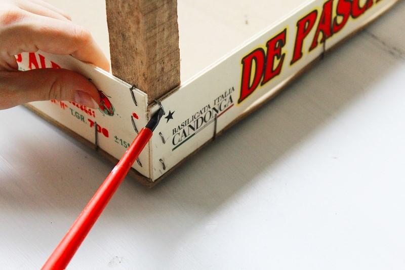 DIY Holz-Unterlage Annefaktur.de