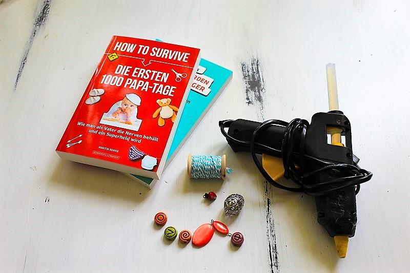 DIY-Papierhänger aus Büchern Annefaktur.de