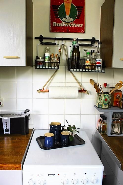 DIY Küchenrollen-Halterung Annefaktur.de