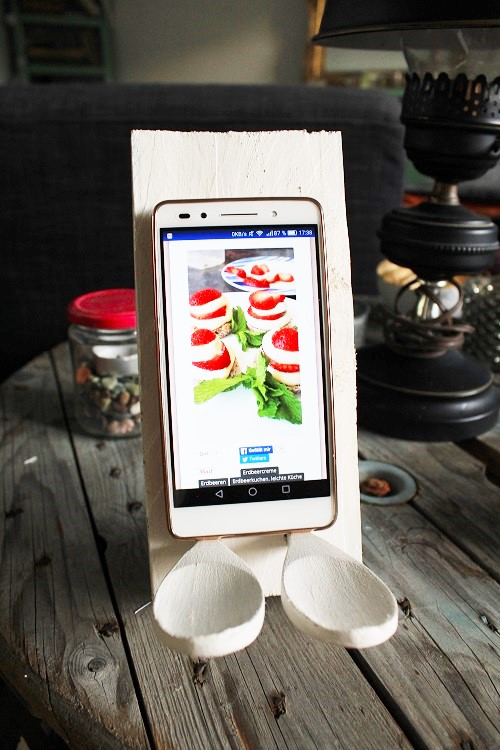 DIY Smartphone-Halter Annefaktur.de