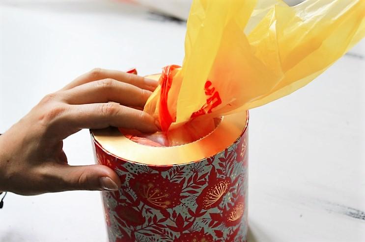 DIY Tütenhalter Taschentuchbox Annefaktur.de