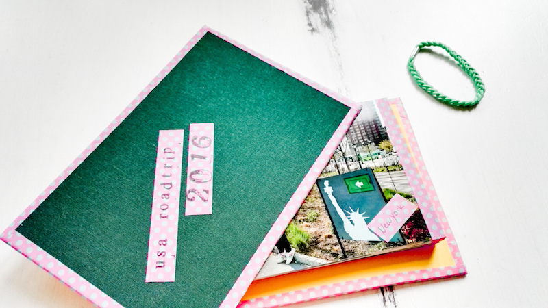 DIY Fotoalbum selber machen Annefaktur.de