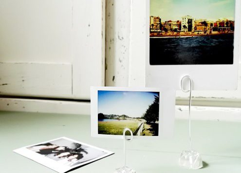 Schnell gemachter Fotohalter für Urlaubserinnerungen annefaktur.de