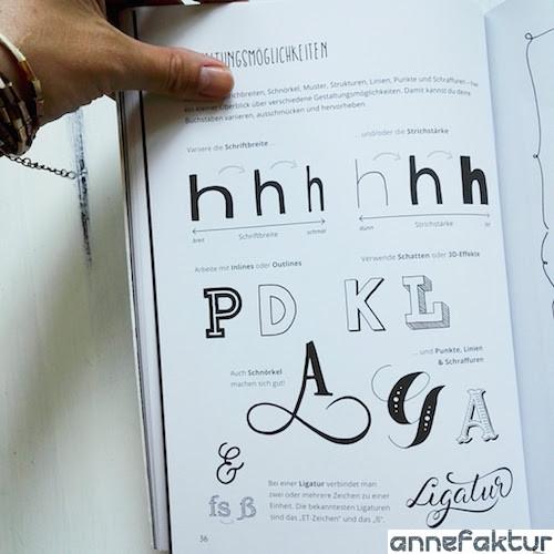 Buchtipp, Bastelbuch, Lettering, Übungen, Annefaktur, DIY, Do it yourself, Basteltipps, Papier, Bastelblog, Berlin, Gewinnspiel