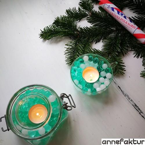 Wasserperlen, Weihnachten, Weihnachtsdeko, Adventsdeko, Vorweihnachtszeit, Lichter, gemütlich, Annefaktur, Bastelblog, Berlin