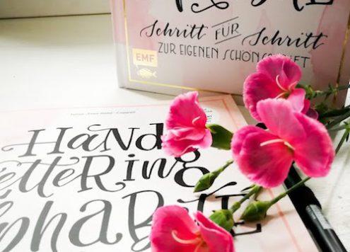 Handlettering, Letterling, Übungsbuch, Frau Hölle, DIY, Basteln, Blog, Berlin, Annefaktur, Schriften, Schriftarten